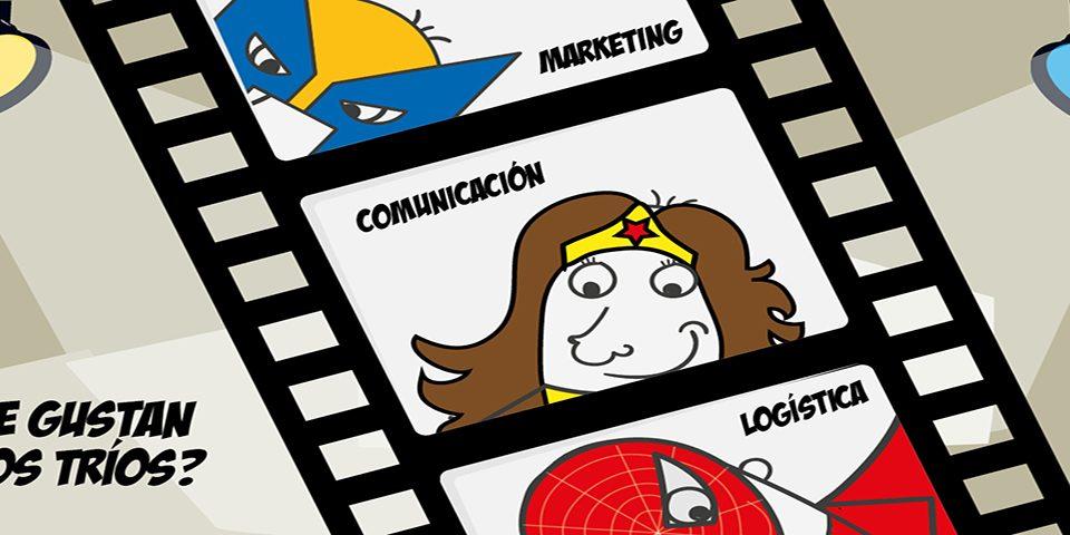 Logística, Comunicación y Marketing