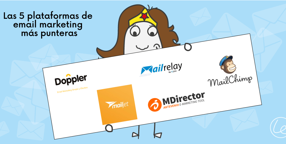 5 plataformas email marketing