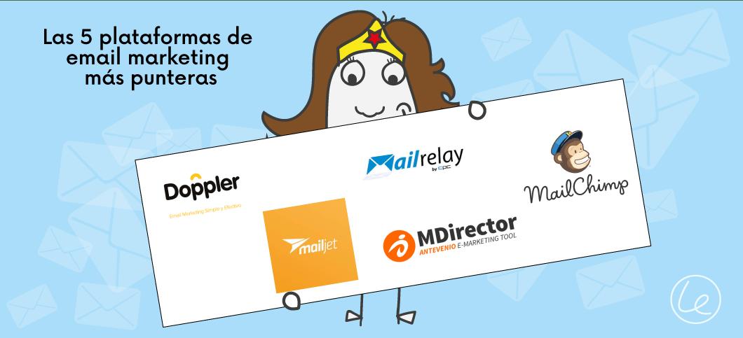 5 plataformas email marketing